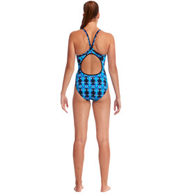 Funkita Eco Diamond Back Badedragt Damer, dive master